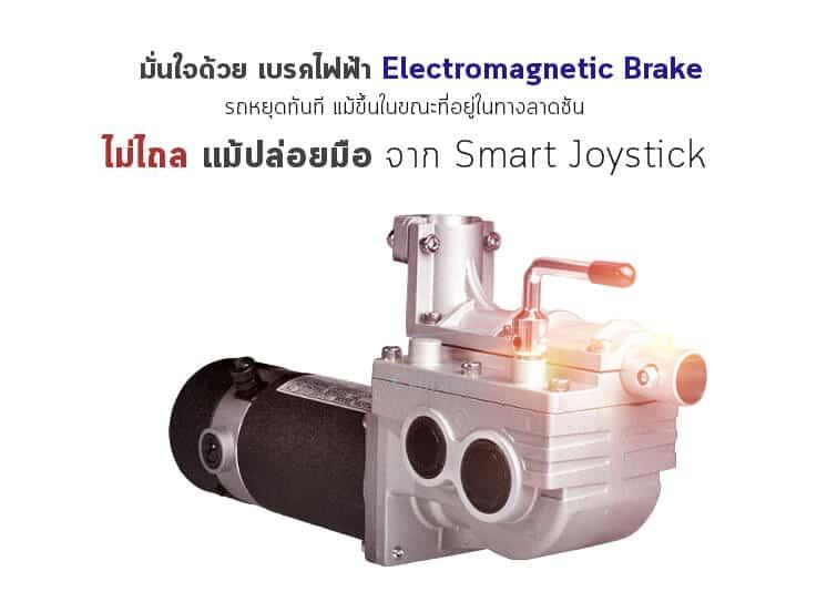 รถเข็นไฟฟ้าพับได้_ALB_motor2