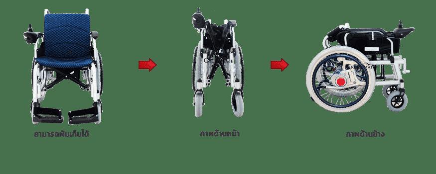 รถเข็นไฟฟ้าพับได้_ALB_folded2
